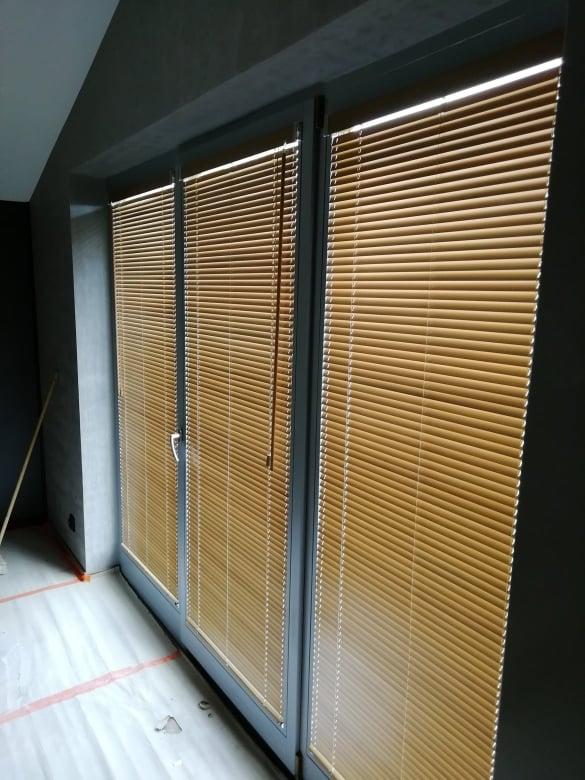 Żaluzje drewniane - Łomianki