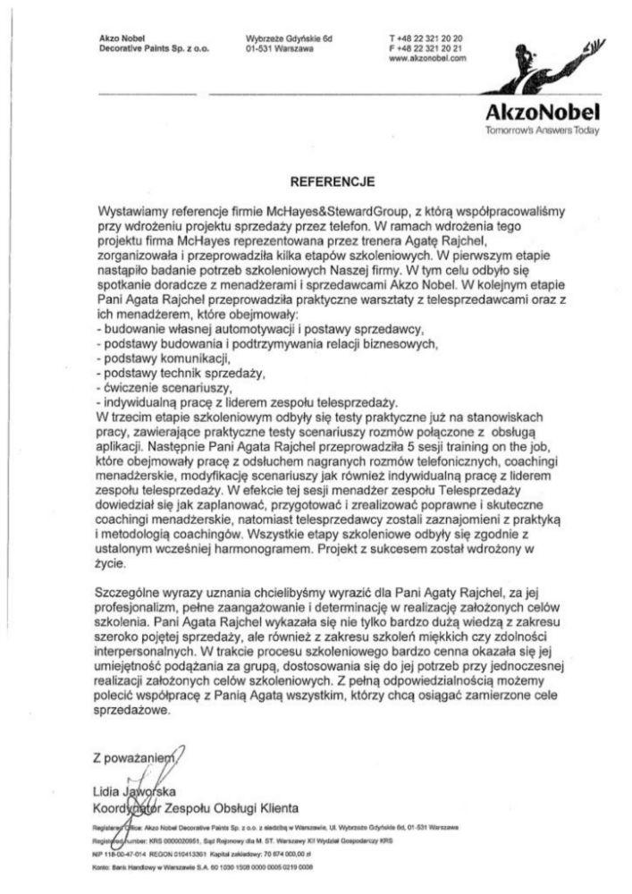 Referencje AKZONOBEL