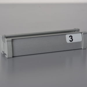 Profil anoda/ srebrny malowany za mb